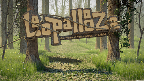 3D Design for Leopallooza in Bude