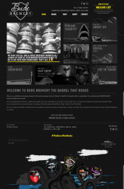 This is the portfolio of dean wronowski bude website for Brewery design software